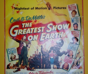 Greatest Show on Earth - movie poster