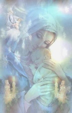 Angel Blessed Mother
