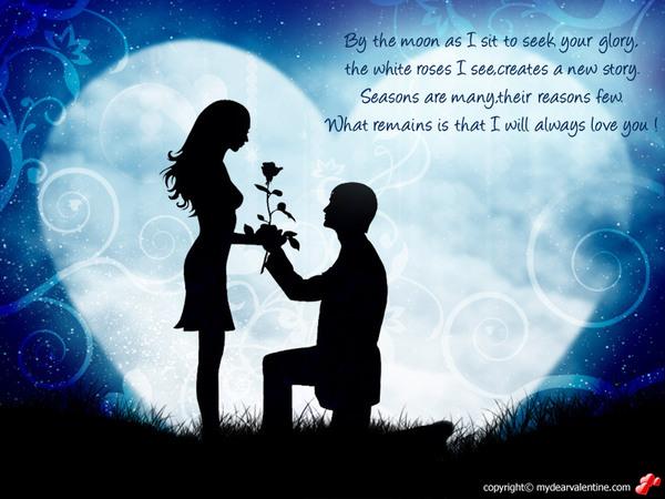 Man &  Woman The Proposal