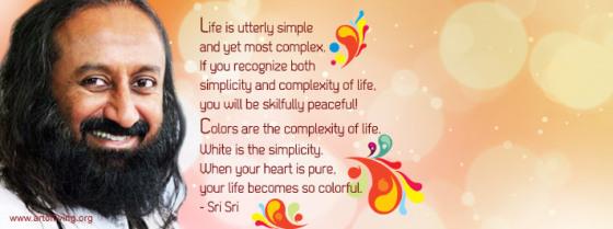 holi Sri Sri Ravi Shankar