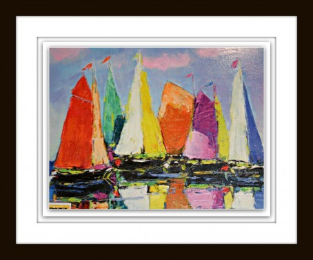 Painting Framed Sailboats.web