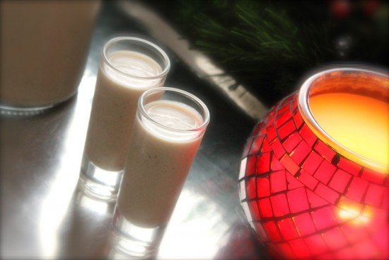 Christmas coquito - shot glasses IMG_4867