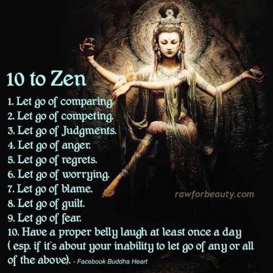 Dali Lama 5 - 10 to zen