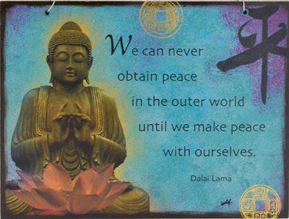 DAli Lama Obtaining-Peace Quote