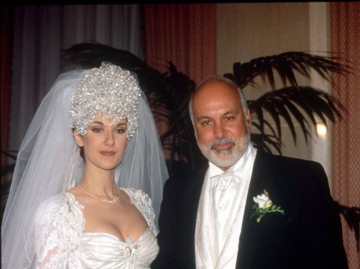 Mandatory Credit: Photo by PONOPRESSE/REX/Shutterstock (238288a) CELINE DION AND RENE ANGELIL CELINE DION WEDDING TO RENE ANGELIL, MONTREAL, CANADA - 1994 /Rex_Celine_Dion_receives_Order_of_Canada_Queb_238288A//1601142311