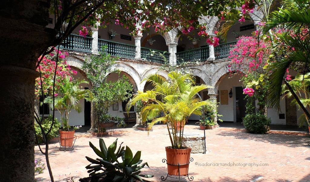 Colombia - La Popa Court yard.web